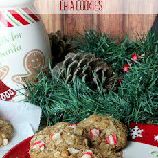 Healthy Peppermint Chia Cookies