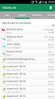 Screenshot of MobileLink