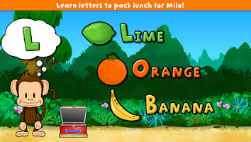 Screenshot of Monkey Preschool Lunchbox