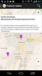 Publicity Mobile Oaxaca - screenshot