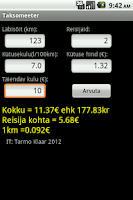 Screenshot of Taksomeeter