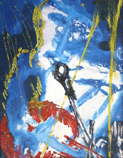 pop star (own work, 1982)