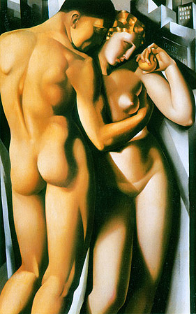 tamara de lempicka, adam and eve