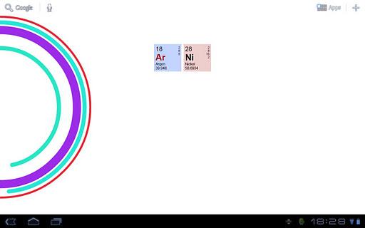 化學時鐘部件