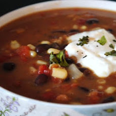 Hearty Black Bean Chowder - Crock Pot