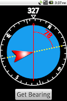 Screenshot of GPS Compass Basic