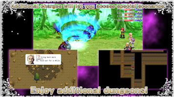 Screenshot of RPG Destiny Fantasia - KEMCO
