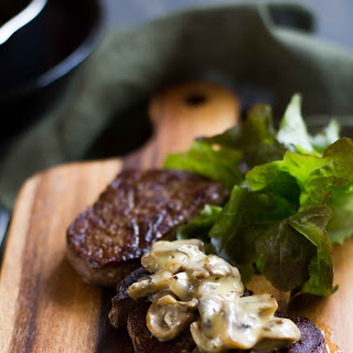 Creamy Pepper Mushroom Sauce Steak Recipes