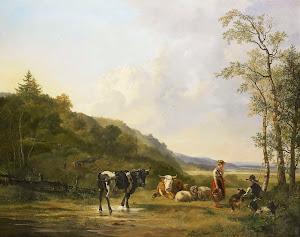 RIJKS: Pieter Gerardus van Os: painting 1820