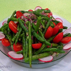 Eat Your Beans!  Easy Fresh Green Bean Salad