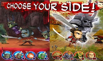 Screenshot of SAMURAI vs ZOMBIES DEFENSE