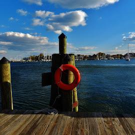 Annapolis City Docks by Matthew Beziat - City,  Street & Park  Historic Districts ( annapolis, annapolis docks, annapolis maryland, annapolis historic district, anne arundel county, maryland, historic annapolis, chesapeake bay, spa creek, annapolis harbor, city docks )