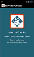 Screenshot of Heyyou GPS tracker