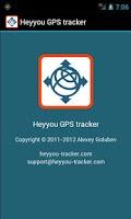 Screenshot of Heyyou GPS tracker