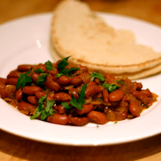 Punjabi Rajma (Kidney Bean and Tomato Curry)