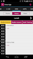 Screenshot of Area App