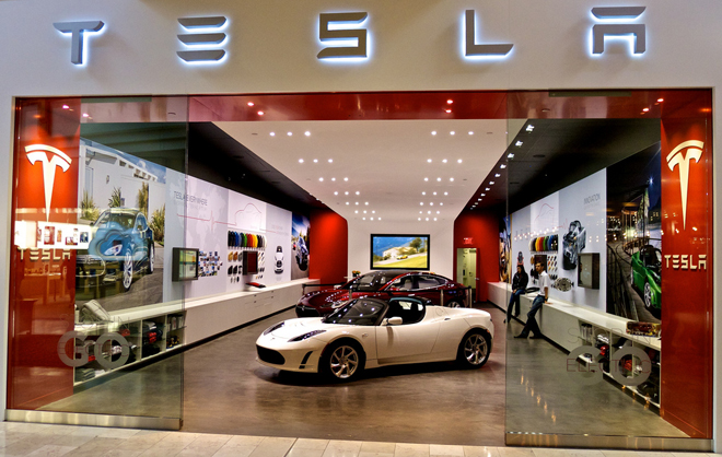 Tesla Stores Illegal New York