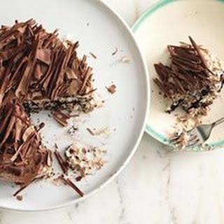 Triple Chocolate-Coconut Refrigerator Cake