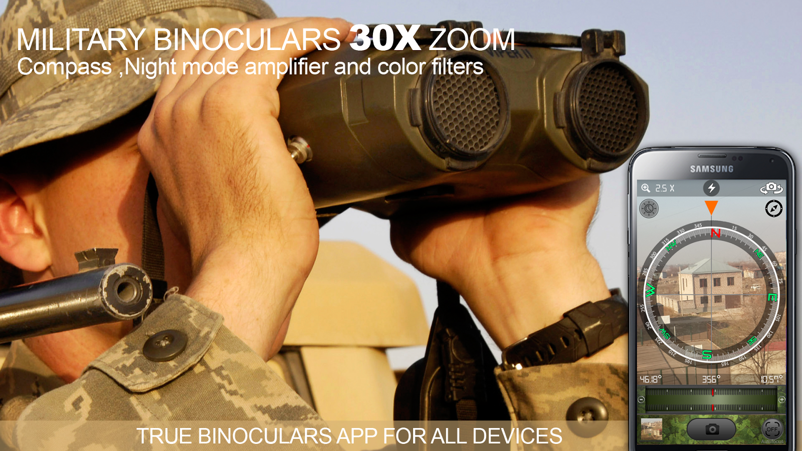Military Binoculars 30X Zoom Screenshot 6
