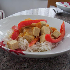 Thai Tofu and Squash Curry