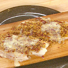 Capocollo and Citrus Crusted Snapper with a Lemon Butter Sauce