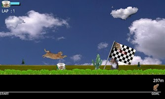 Screenshot of Cat Runner CHIP
