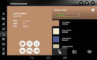 Screenshot of Brillux