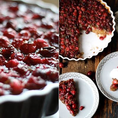 Cranberry & Pear Tart