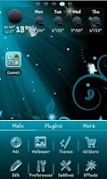 Screenshot of Fairy Blue Go Launcher Ex