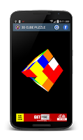 Screenshot of 3D CUBE PUZZLE