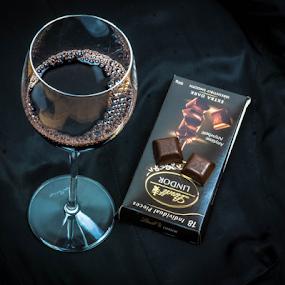 Dark Chocolate by Petra Bensted - Food & Drink Candy & Dessert ( chocolate, dark )