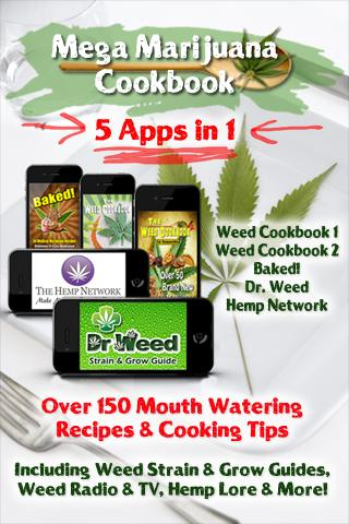 5-in-1 Mega Marijuana Cookbook