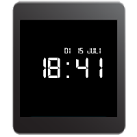 Screenshot of Retro LCD Wear Watchface