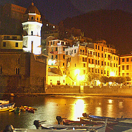 Vernazza Harbor by Sue Matsunaga - Novices Only Street & Candid