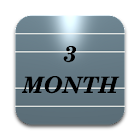 Three Month Calendar icon