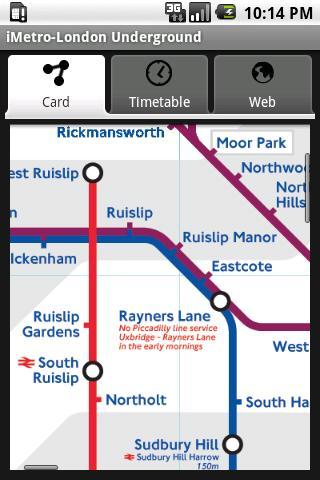 iMetro London Underground Info