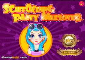 Screenshot of Scaffolding Party Makeover