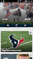 Screenshot of Houston Texans Mobile App