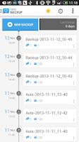 Screenshot of SMS Backup & Restore (Kitkat)