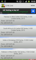 Screenshot of CRIK LIVE - Live Cricket