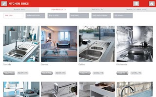 Screenshot of Franke Kitchen Systems SA