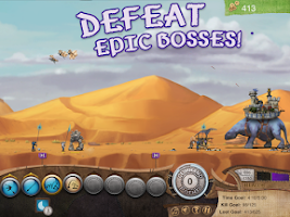 Screenshot of Roaming Fortress