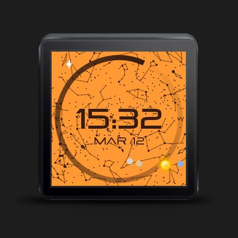 StarWatch Watch Face - screenshot
