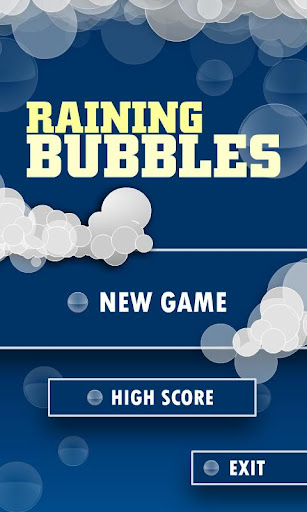 Raining Bubbles