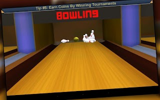 Screenshot of Pocket Bowling 3D