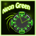 Neon Green Style Clock 2 icon