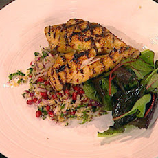 Lemon Chicken Paillard With Bulgar Wheat Salad