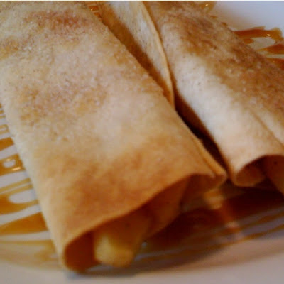 Cinnamon Apple Flautas