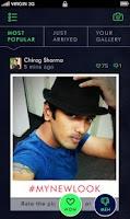 Screenshot of The Signature Selfies App