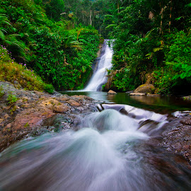Water Flow by Badroe Zaman - Landscapes Travel ( water, indonesia, flow, travel, landscape )